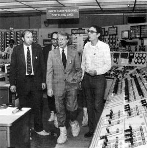 Jimmy Carter touring Three Mile Island,  April 1, 1979